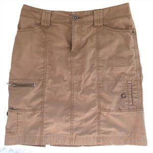 Eddie Bauer Cargo Pockets Casual Travel Skirt